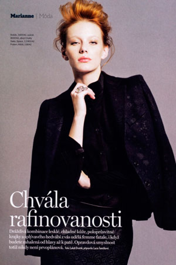 Model | Lenka ŠINDELÁŘOVÁ