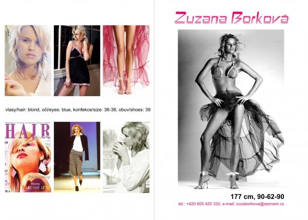 Model  Zuzana BORKOVÁ